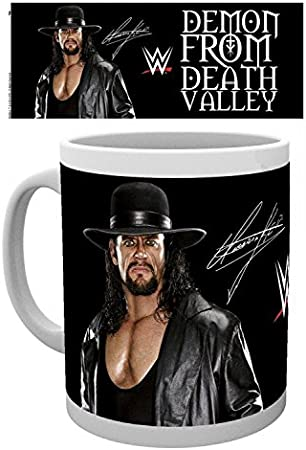 WRESTLING MUGS AND PHOTO PRINTS UNDERTAKER 19 WITH BELT
