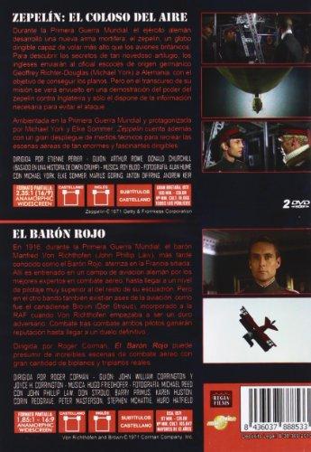 Zeppelin (Michael York) + Von Richthofen and Brown (The Red Baron - John Philipp Law) 2 DVD - Region 2