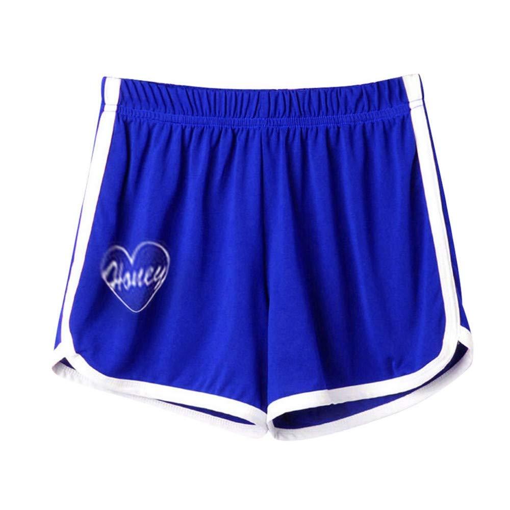 Dmitongz Ladies Sport Letter Love Shorts Pantsfashion Women Lady Summer Sport Shorts Beach Short Pants