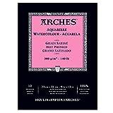 watercolor paper 140lb hot press - Arches Watercolor Pad, Hot Press 9