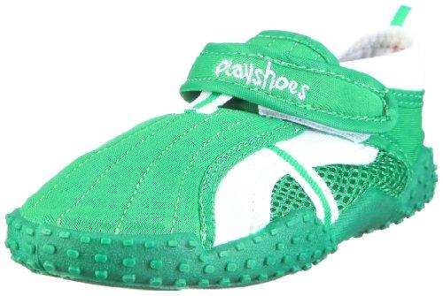 Playshoes Standard 801 174798, Unisex-Kinder Aqua Schuhe, Grün (grün 209), EU 20/21