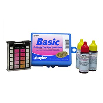 Taylor K1001 Basic Residential Pool or Spa Test Kit