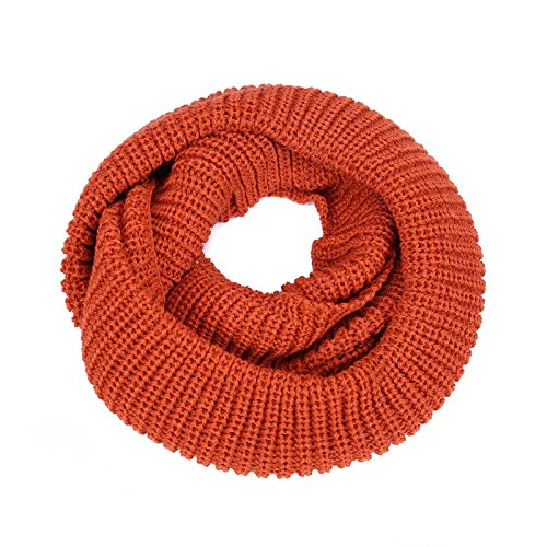 HDE Women's Winter Infinity Scarf Warm Knit Wrap Circle Loop Thick Cowl