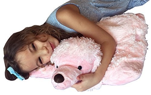 """Puppy Love Backpack (Love Puppy ZooPurr Pets 3-in-1 Stuffed Animal + Pillow + """"I Love You"""