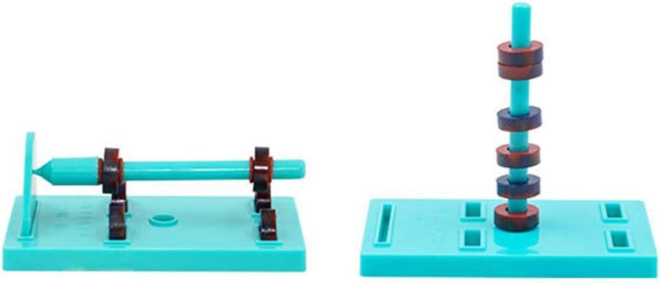 DIY Bar Ring Horseshoe Compass Magnets Set basic physics Science Toys