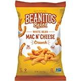 Beanitos Baked Crunch Mac n' Cheese, The Healthy, High Protein, Gluten free, and Low Carb Tortilla Chip Snack, 7 Ounce A Lean Bean Protein Machine for Superfood Snacking At Its Best