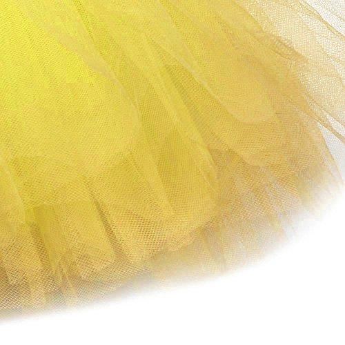 Naturazy Mujer Enagua Corta Vintage Rockabilly Cancan Tutu Mujeres Falda Tutú Princesa De Tul Ballet Danza Enaguas Carnaval Disfraces: Amazon.es: Ropa y ...