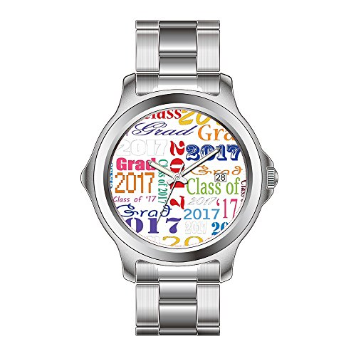 FDC Christmas Gift Watches Women's Fashion Japanese Quartz Date Stainless Steel Bracelet Watch 2017 Graduate Watches