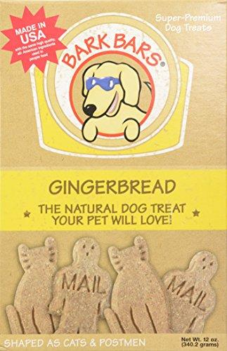 Bark Bars Gingerbread Pet Treat, 12-Ounce ()