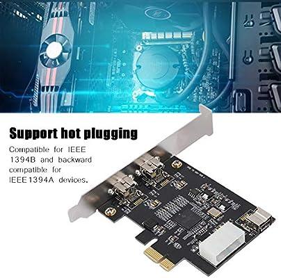 Bewinner PCI E a 3 Puertos FireWire 800/1394b Interfaces de ...