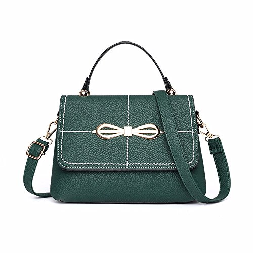 Mujer BMKWSG Blackish Green Bolso para Hombro Blackish Green al gTq1wTI