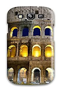 Durable Coliseum In The Evening Back Case/cover For Galaxy S3