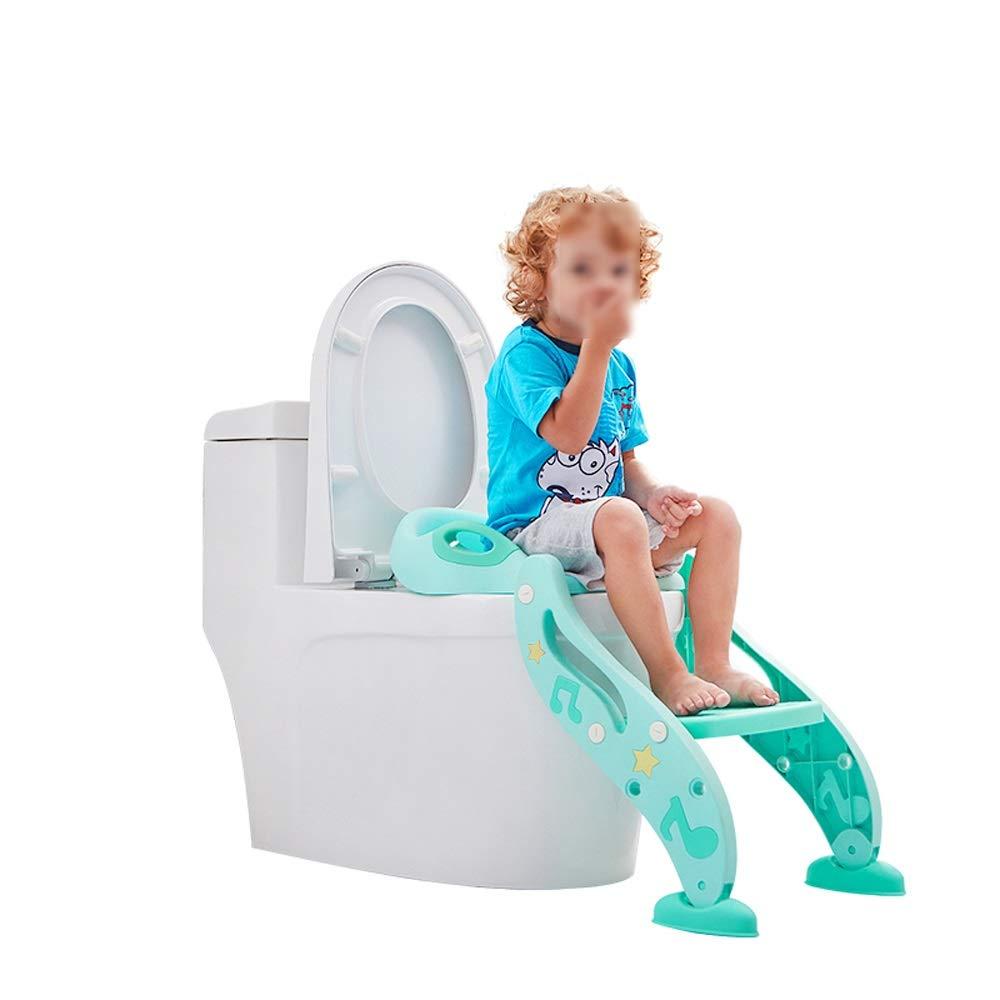 Byx- Stair Type Children's Toilet Child Toilet Seat Chair Female Baby Seat Washer Boy Toilet Baby Toilet Seat Cover -Toilet Seats for Toddlers