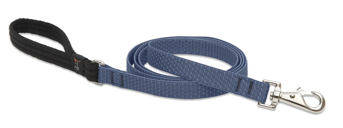 Lupine Eco 3 4-Inch Recycled Fiber Padded Handle Leash for 6-Feet Medium to Large Dogs, Mountain Lake