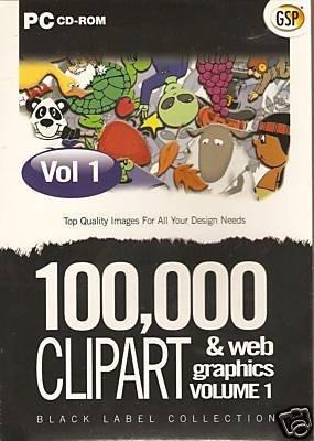100,000 clipart & webgraphics volume 1 (PC) (UK IMPORT)