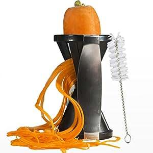 New Spiral Slicer Spiralizer - Premium Vegetable Slicer/Cutter/Chopper - Zucchini Pasta/Noodle/Spaghetti Maker