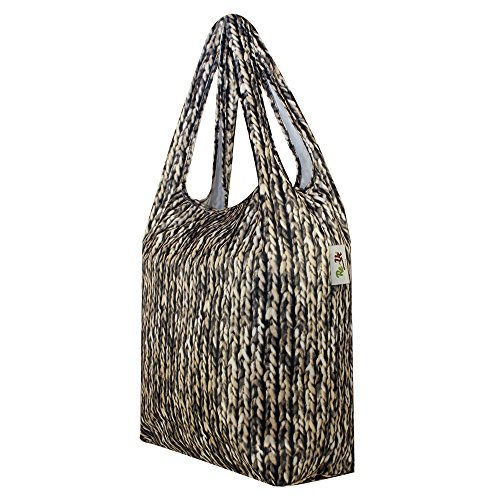 Re Beige Asa Knit de Uz Bolsa Resistant Unisex Shopping Superior adulto Water HnTArqHwp