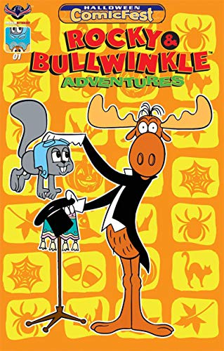 ROCKY and BULLWINKLE #1 Halloween Comicfest, Promo, 2018, NM, Ashcan