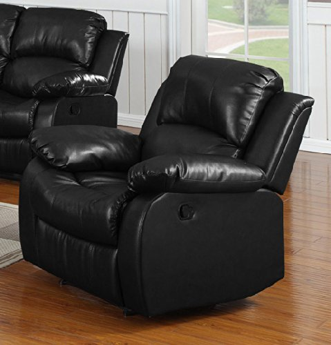 Bonded Leather Rocking Chair Recliner (Bella Leather Chair)