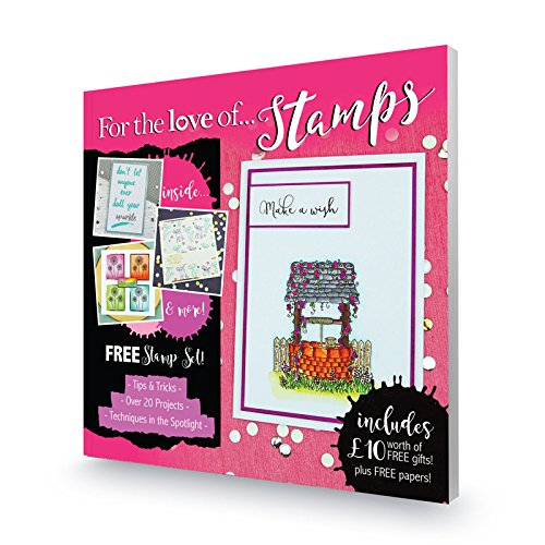 Hunkydory For the Love of Stamps Magazine - Issue 1 with Stamps & Papers!
