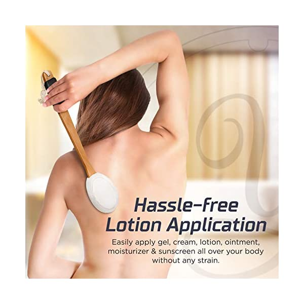 """Lotion Applicator for Your Back 