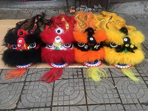 (everythingwushu Kids Sized Lion Dance Equipment Wushu Lion Dancing Costume)