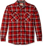 #8: Wrangler Authentics Men's Long Sleeve Plaid Fleece Shirt