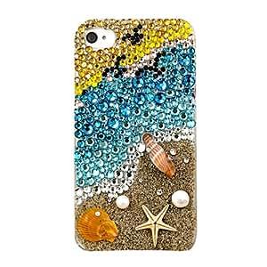 Dreamland Beach Colorful Rhinestone Handmade Case For iPhone 5/5S