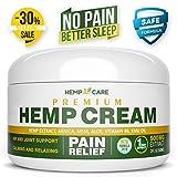 Hemp Cream For Pain Relief - Hemp Cream For Knee, Joint, Muscle
