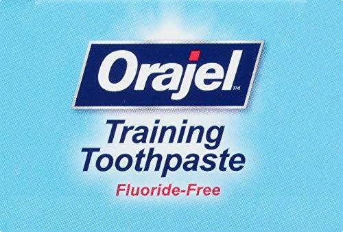 513 wgJ7WXL - Orajel Elmo Fluoride-Free Training Toothpaste, Berry Fun, One 1.5oz Tube: Orajel #1 Pediatrician Recommended Brand For Kids Non-Fluoride Toothpaste