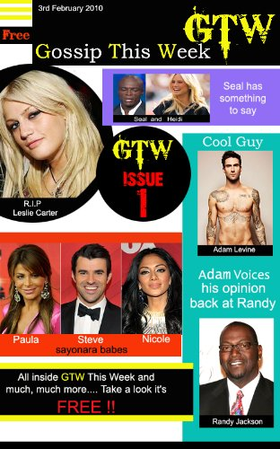 GTW Gossip This Week Celebrity Magazine (GTW - Gossip This Week Celebrity Magazine Book 1)