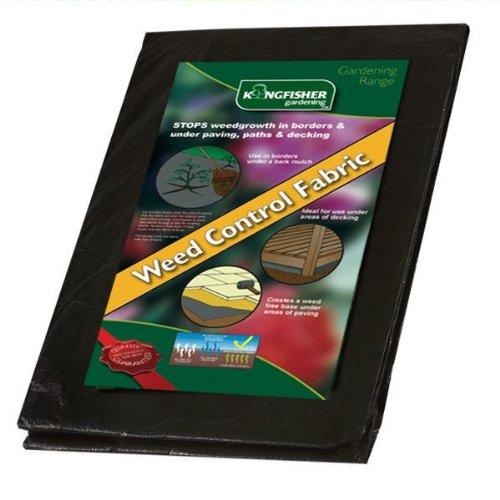 8m x 1.5m Garden Weed Control Membrane Landscape Fabric Ground Cover Lining Mat BONNINGTON PLASTICS LTD