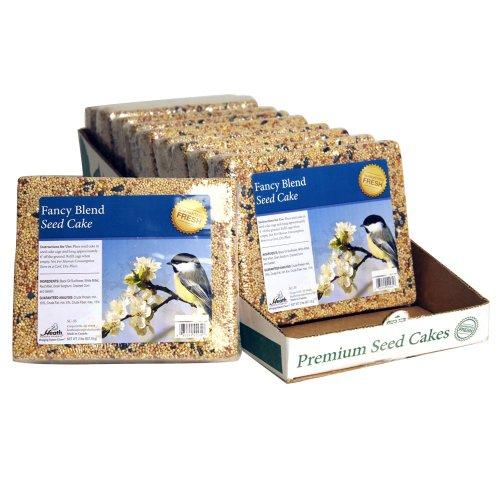 Heath Outdoor Products SC-35 2-Pound Fancy Blend Seed Cake, 10-Pack by Heath Outdoor Products