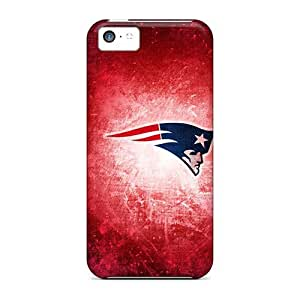 Hard Plastic Iphone 5c Case Back Cover,hot New England Patriots Case At Perfect Diy