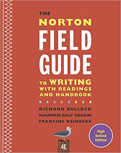 the norton field guide to writing with readings 5th edition