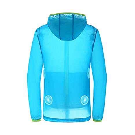 Work Product Protection Fishing For >> Amazon Com Vovi Air Conditioning Clothes Fan Cooling Jacket
