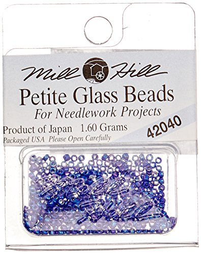 Mill Hill Petite Glass Seed Beads, Periwinkle ()
