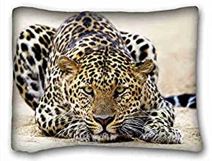Generic Personalized Animal Custom Zippered Pillow Case 20x26 inches(one sides) from Surprise you suitable for Twin-bed