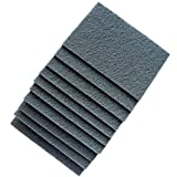 Perfect Sanding Supply by Abrasive Resource 6 Inch x 9 Inch Non Woven Scuff Hand Pads - Gray Ultra Fine (20 Pack, Grey)