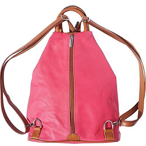 tan shoulder 2061 purse bag Backpack Pink and EqWxwYSgf1