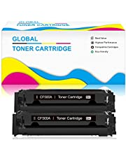ChenPhon Compatible Toner Cartridge Replacement for HP 202A CF500A Upgraded Version HP Laserjet Pro M254dw MFP M281fdw MFP m281cdw -2Black