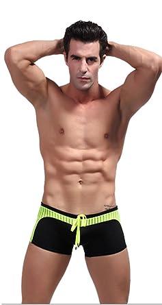 Demarkt Sexy hombre traje de baño/boxer trunk pantalones ...