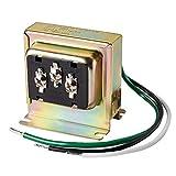 Newhouse Hardware 3TRAN Tri-Volt (8vac/10VA, 16vac/10VA or 24vac/20VA) Transformer for for Ring, Nest and Standard Doorbells 1pk