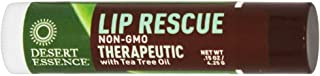product image for Desert Essence Lip Rescue Therapeutic with Tea Tree Oil - 0.15 oz - Case of 24-pack of 1