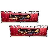 GSkill Ripjaws 4Serie F4–2800C16d-16grr DDR42800MHz 16GB Arbeitsspeicher-Kit–Rot
