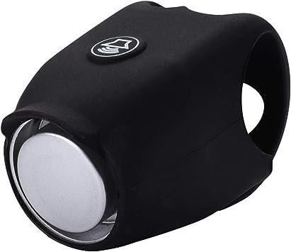 Timbre de Bicicleta y Anillo de Ciclismo Negro Adecuado para Uso en Bicicleta Al Aire Libre para Un Sonido Seguro Accesorios(1PC): Amazon.es: Deportes y aire libre