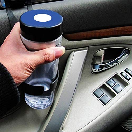 ouying1418 Black Universal Vehicle Car Truck Door Mount Drink Bottle Cup Holder Stand