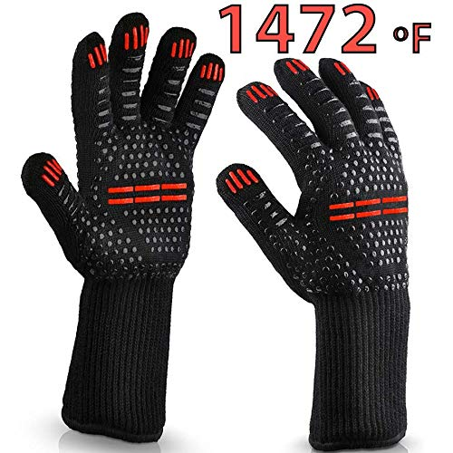 TopBuy Extra Resistance Grilling Gloves product image