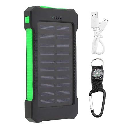 300000mAh Dual USB Solar Power Bank Teléfonos móviles ...