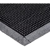 Durable Corporation Heavy Duty Rubber Fingertip Entrance Mat, for Outdoor Areas